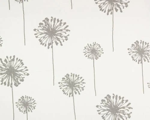 DANDELION Fabric By The Yard Premier Prints Storm Gray Grey Or 7