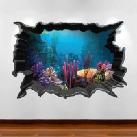 Finding Nemo Aquarium 3D Wall Art Sticker Decal Boy Girl