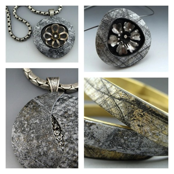 Contemporary Art Jewelry In Polymer And Mixed