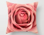 Pink Rose Pillow Cover Natural History Botany Nature In Design Pink Decor Garden Decor Nature