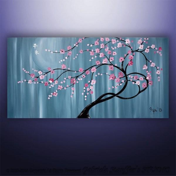 Abstract Painting Tree Wall Art Decor Canvas
