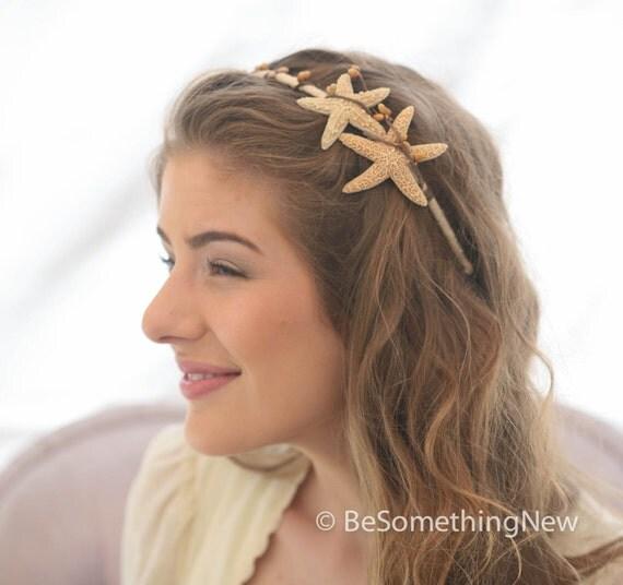 Starfish Headband With Priority Mail Beach By BeSomethingNew