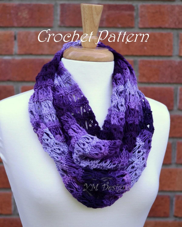 russian lace crochet scarf diagram brain stem labeled infinity pattern