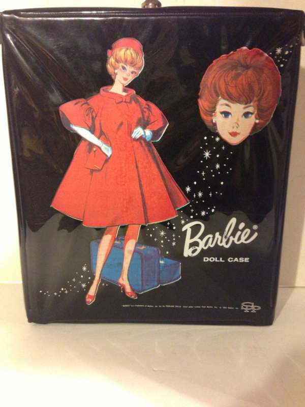 Vintage Black Barbie Doll Case
