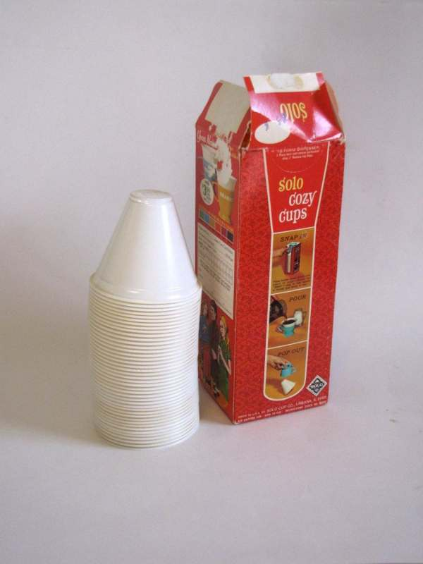Vintage 1970s Solo Cozy Coffee Cup Inserts