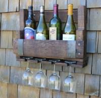 Reclaimed Wine Barrel Wine Rack Pallet Wine Rack Pallet