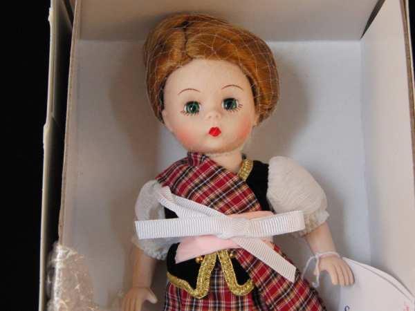 Madame Alexander Scottish Lass Doll In Original