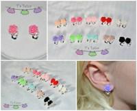 Rose Clip-On Earrings Girls earrings Every day by ...