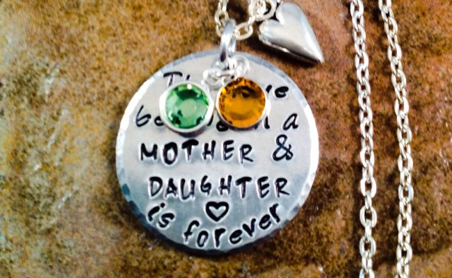 Mother Necklace Daughter Necklace Gift For Mom Daughter