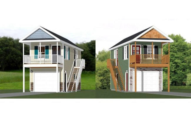 12x32 1 Bedroom Tiny Homes Pdf Floor Plans By