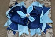 clearnaceover top hair bow