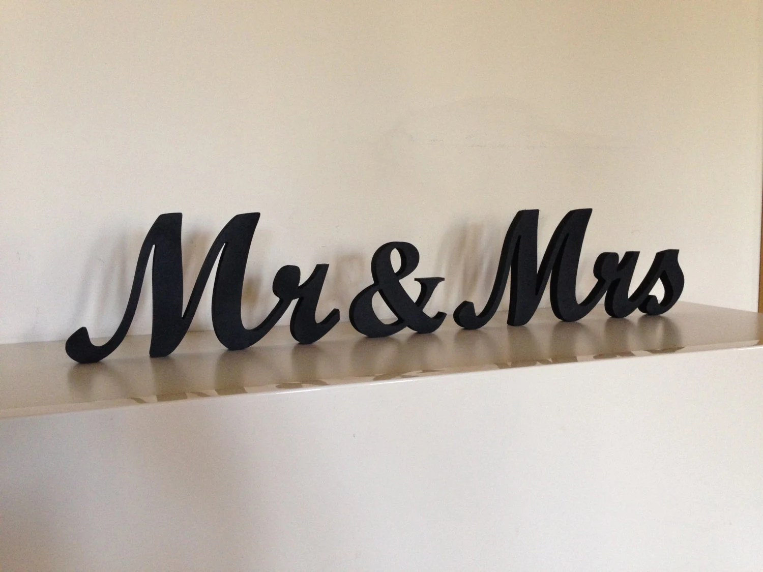 Mr. &. Mrs.. Wood Sign Wedding Decor Mr. And Mrs. Wooden