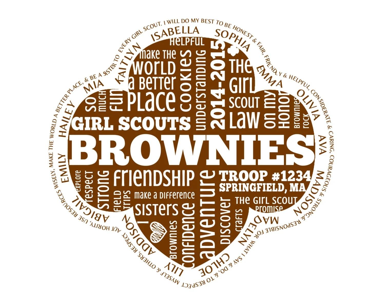 Brownies Girl Scouts Printable Brownie Girl Scout
