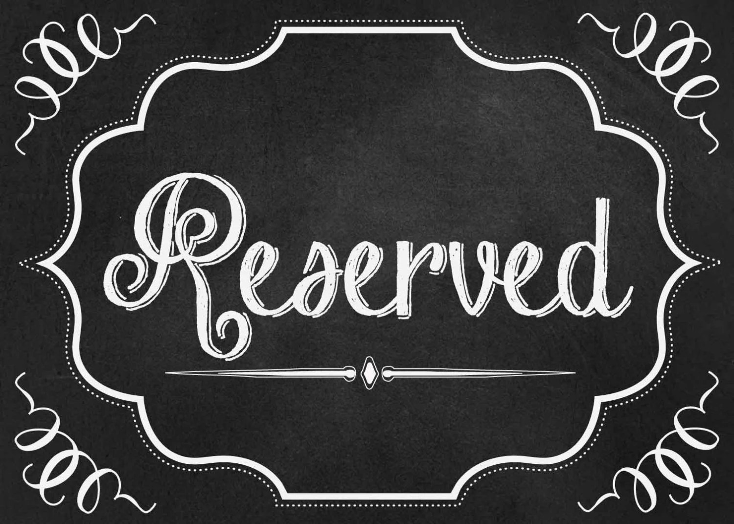 reserved signs for chairs template garden treasures patio wedding seating chalkboard sign 5