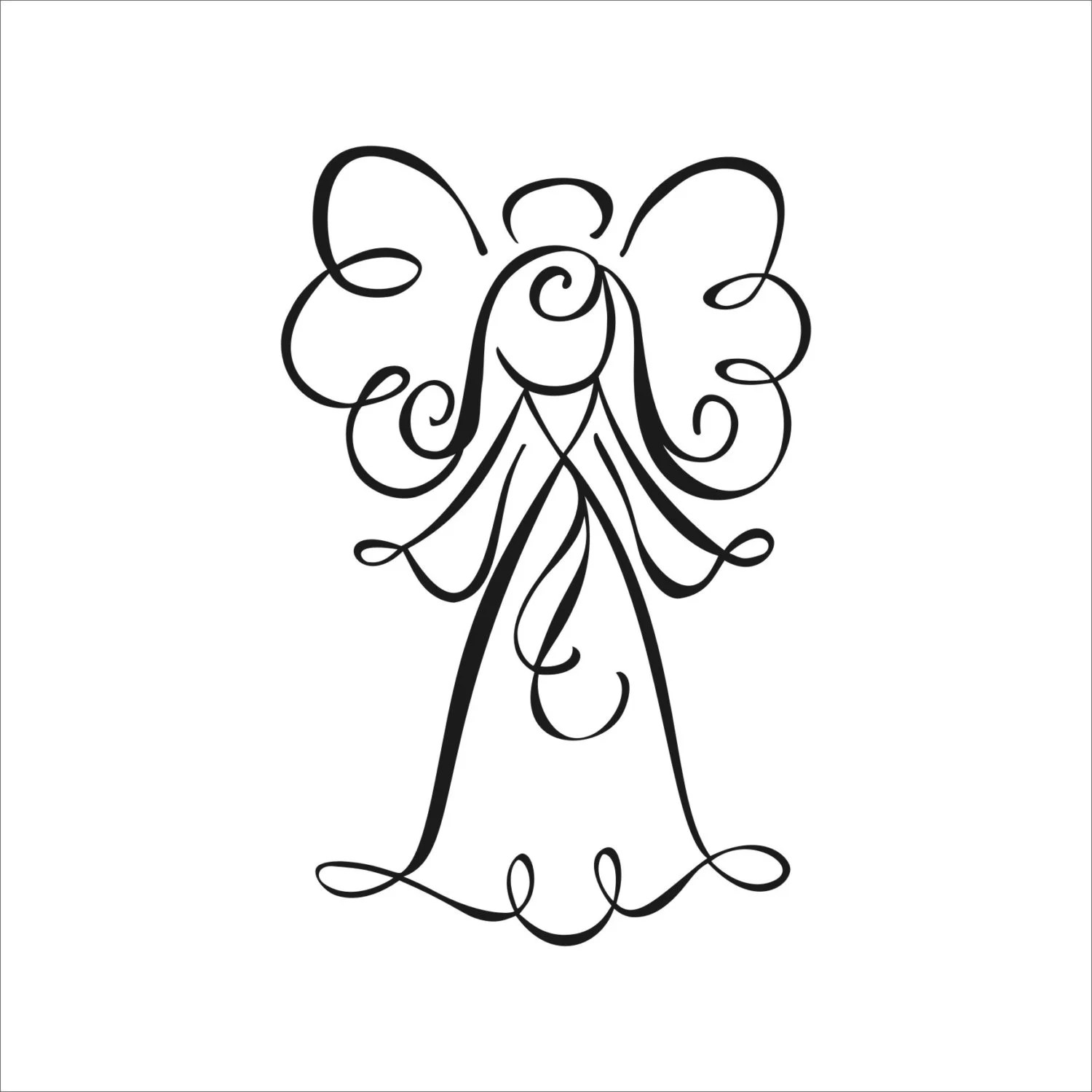 Angel Of Death Decal Sticker