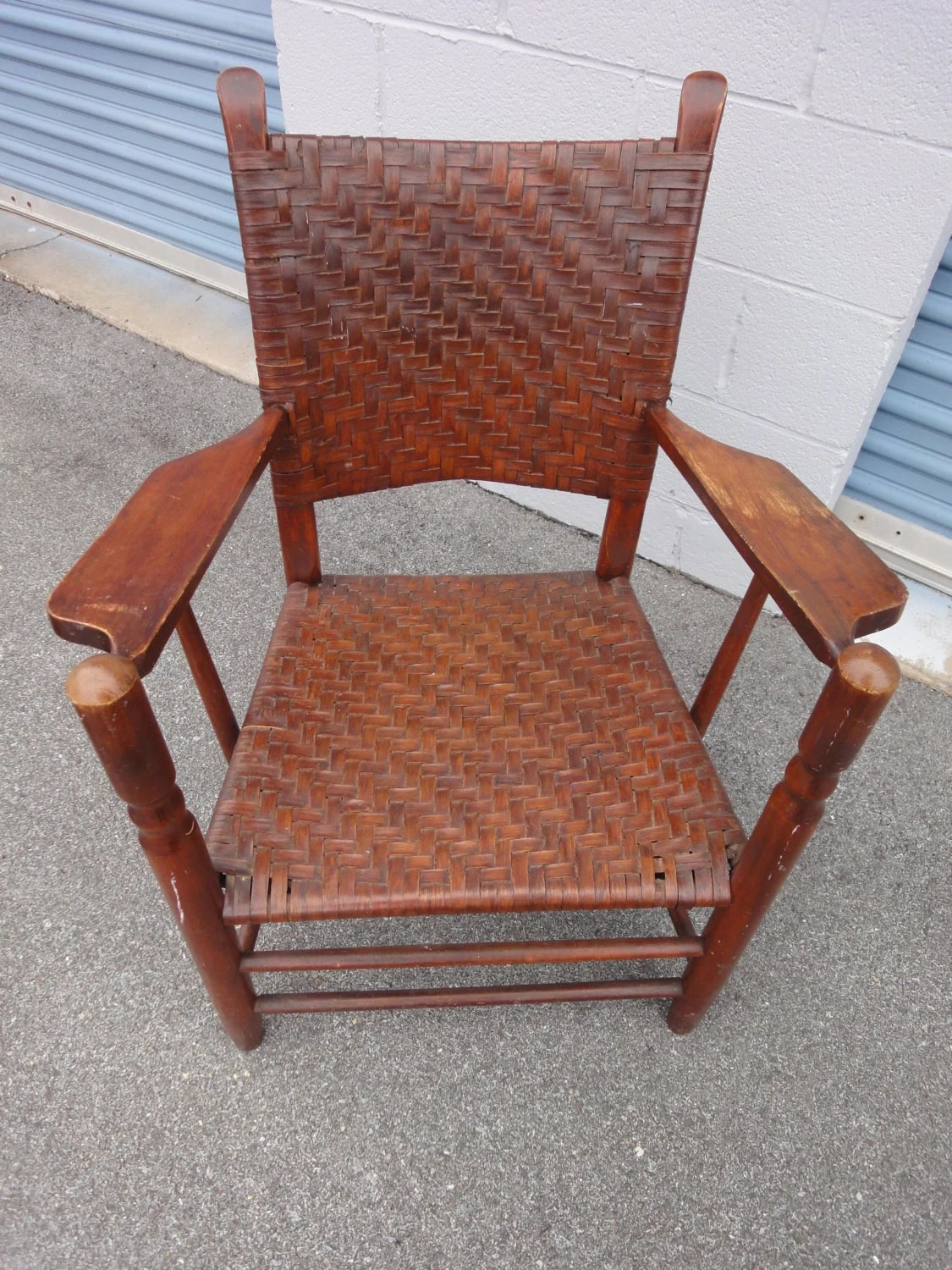 antique high back wicker chairs wedding chair covers gretna green walnut and woven