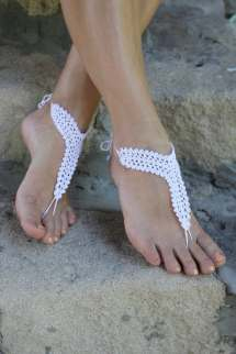 Beach Wedding Barefoot Sandals Shoes