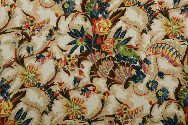 French Art Deco Reproduction Home Decor Fabric 1920'
