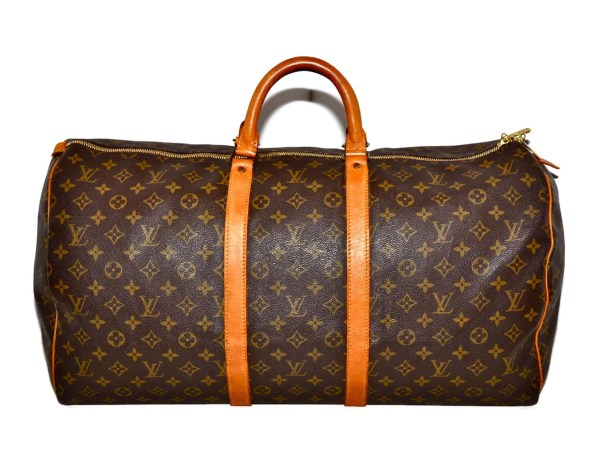 Louis Vuitton Keepall 55 Duffel Bag Large Size Lv Monogram