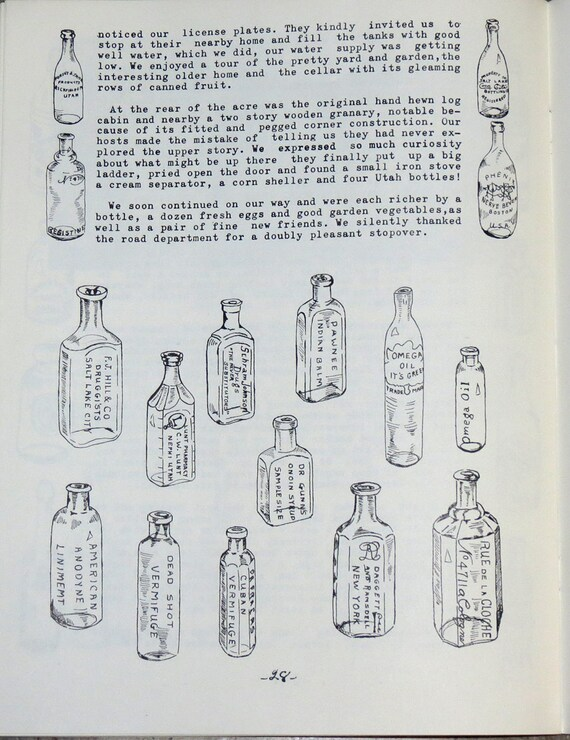 Bottle Talk Vintage 1966 Bottle Hunting / by CosmicLibrary