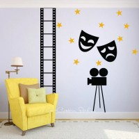 Hollywood Wall Decal Movie Decal Drama Decal Theater Decal