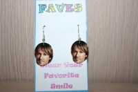 Keith Urban Dangle Earrings Celebrity Jewelry