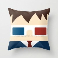 10th Doctor David Tennant pillow plush cushion