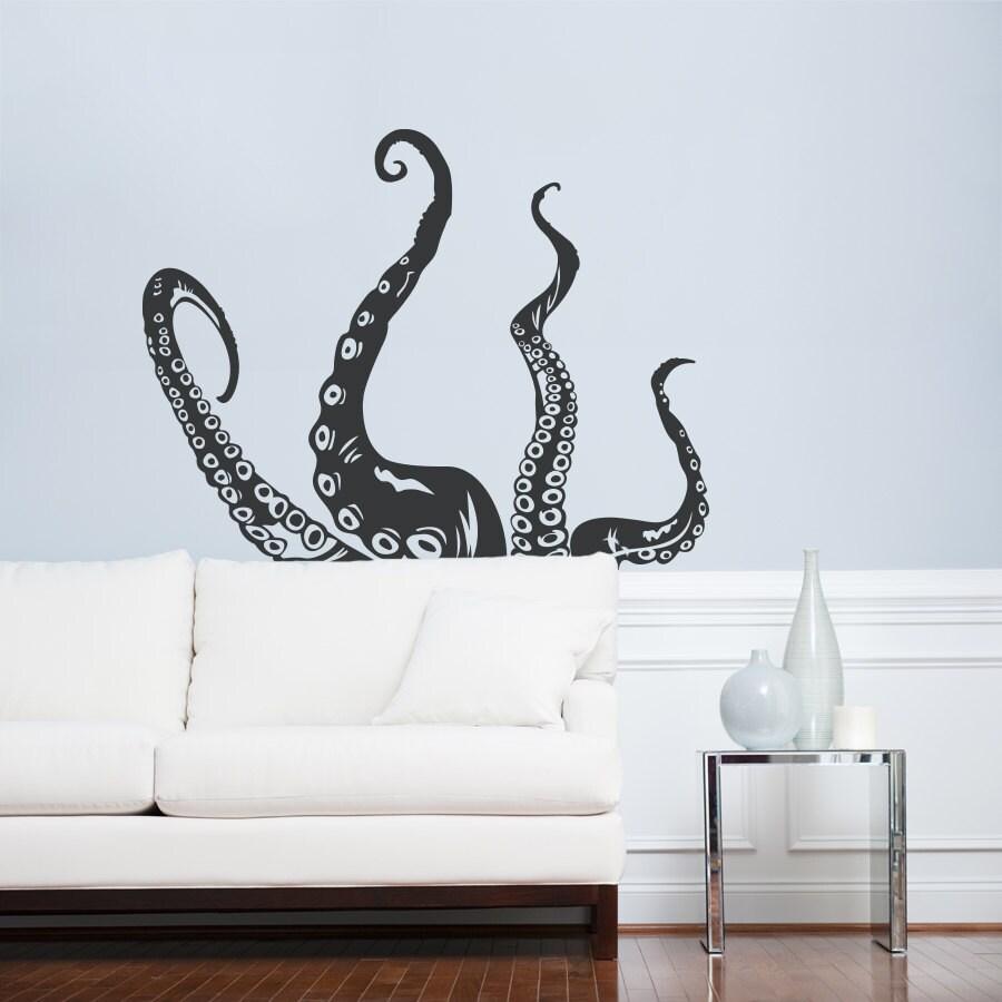 Octopus Tentacles Wall Art Decal Octopus Decal Tentacles