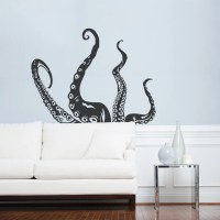 Octopus Tentacles Wall Art Decal Octopus Decal Tentacles
