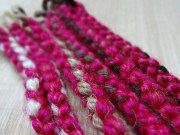 1 synthetic dread fuschia hot