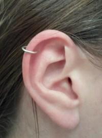 Sterling Silver Hoop Earrings 16 GAUGE PAIR Cartilage Tragus