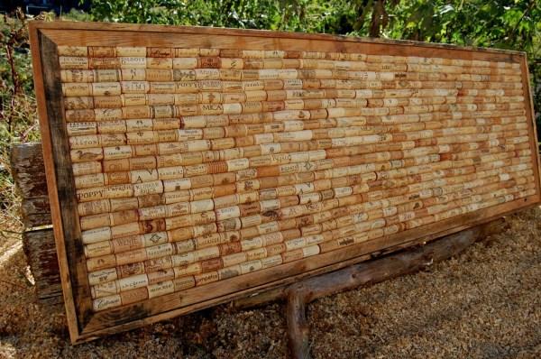 Large Wine Cork Board