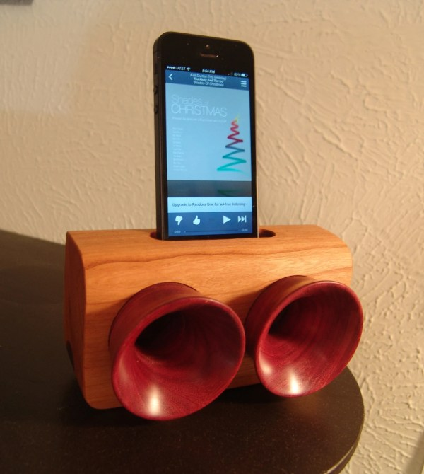 Folded Horn Passive Phone Speaker Wood Work Diy - Year of