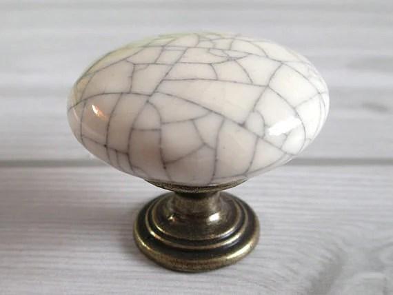 Ceramic Knobs  Kitchen Cabinet Knobs Dresser Drawer Knobs