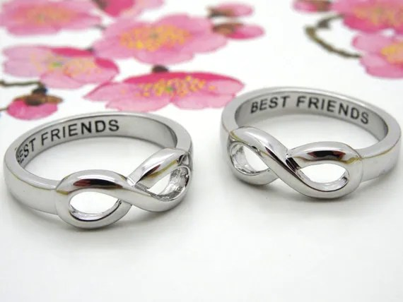 Infinity Ring BEST FRIENDS Infinity Ring