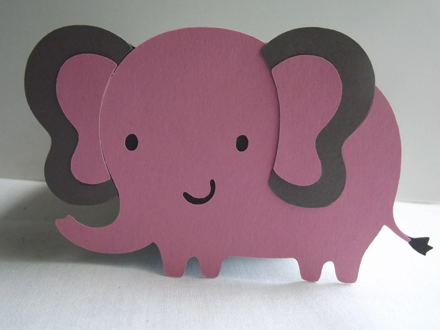Elephant Baby Shower Elephant Cut Outs Baby Girls First
