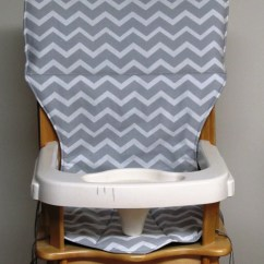 Eddie Bauer High Chairs Mickey Mouse Chair Pad Replacement Cover Zigzag Gray And