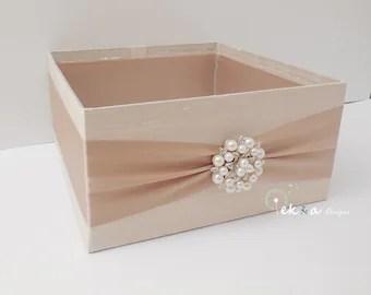 Wedding Program Box / Amenities Box / Program Holder / Open