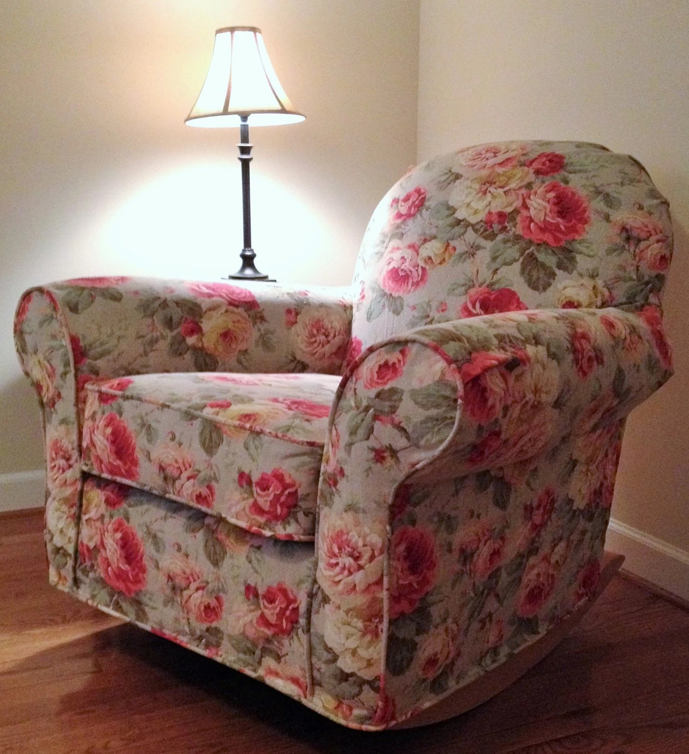 swivel chair pottery barn swing chairs outdoor custom slipcover for dream glider made