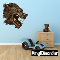 Mythical Creature Werewolf Wall Decal Wall Fabric Vinyl