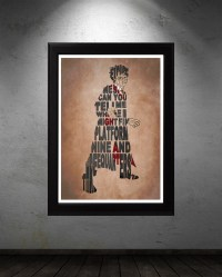 Harry Potter Poster - Minimalist Typography Poster, Movie ...