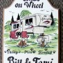 5th Wheel Camping Welcome Sign Personalized Great Gift Idea