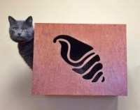 Decorative Cat Wall Perch Cat Wall Art Cat by WoodinYou on ...
