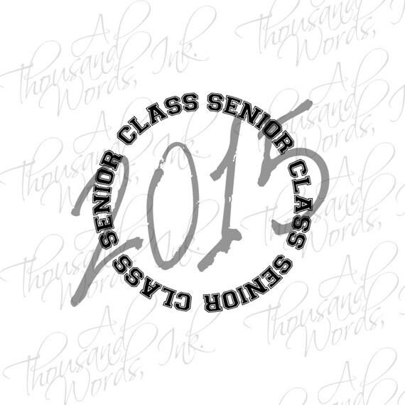 Digital Overlays Senior Class 2015 .png clipart files
