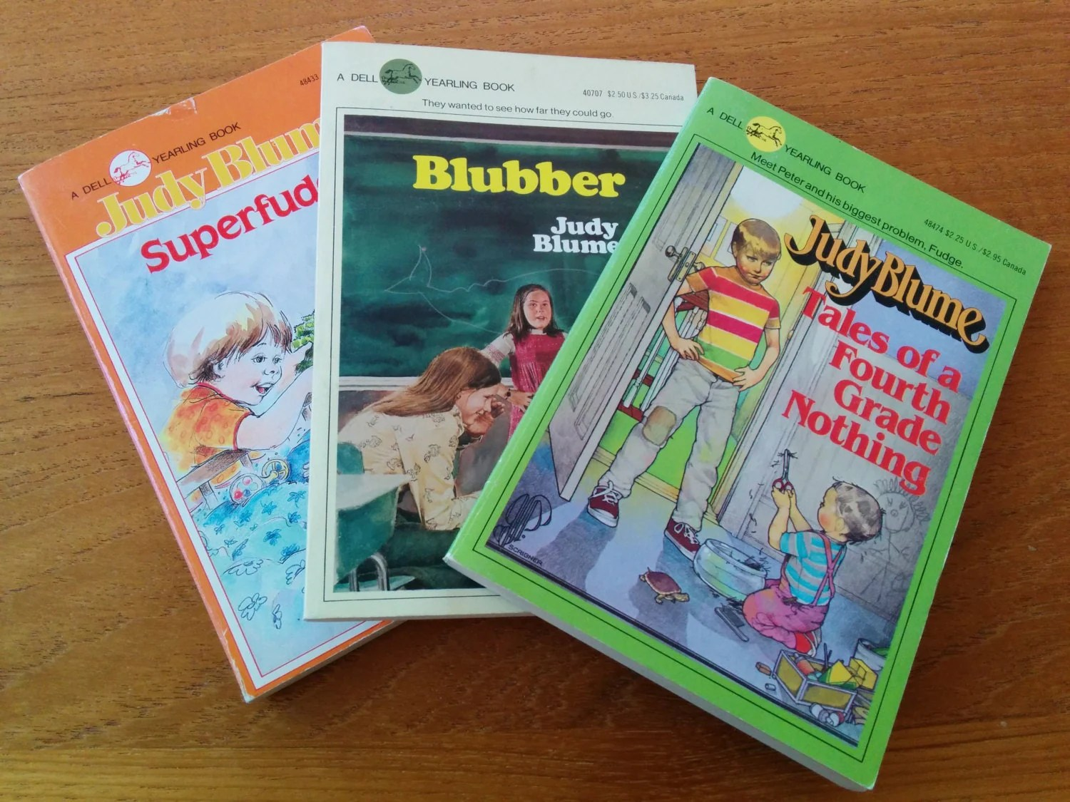 Vintage Judy Blume S Paperback Books Set By Charmandfunction