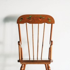 Wooden Childrens Rocking Chair Covers For Desk Chairs Child 39s Kids
