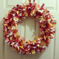 USC Trojan Football Wreath Ribbon Wreath USC by ...