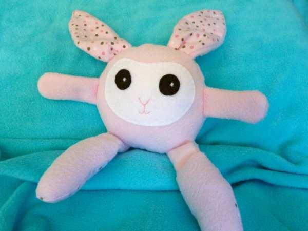 Plush Easter Bunny Stuffed Kids Toy