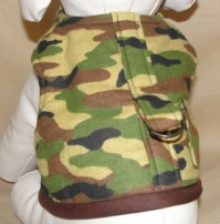 Dog Clothes Camo Dog harness Pet Harness dog jacket dog