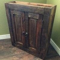 Rustic Bathroom Cabinet Handmade reclaimed by FoxDenDecor ...
